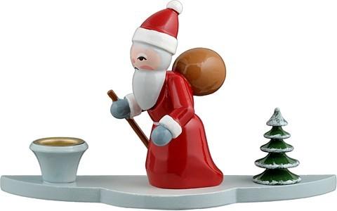 Kerzenhalter - Weihnachtsmann 3-teilig
