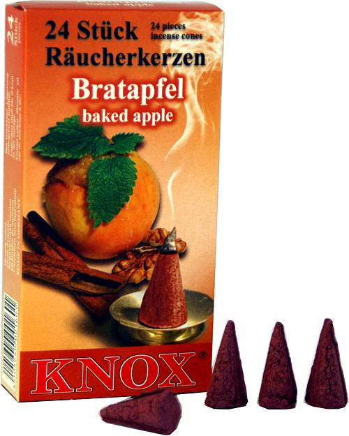 KNOX Räucherkerzen - Bratapfel