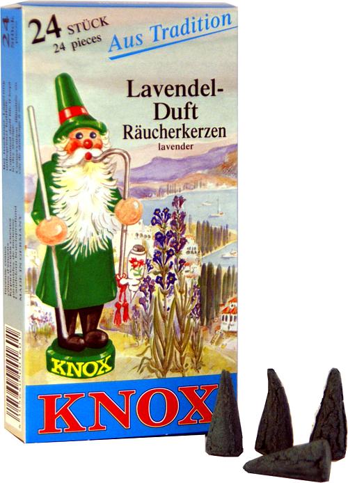 KNOX R�ucherkerzen - Lavendel