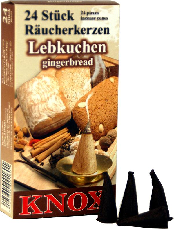 KNOX R�ucherkerzen - Lebkuchen