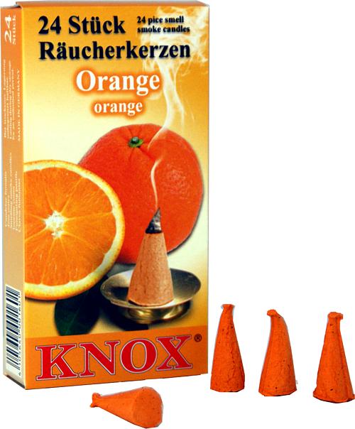 KNOX R�ucherkerzen - Orange