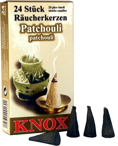 KNOX R�ucherkerzen - Patchouli