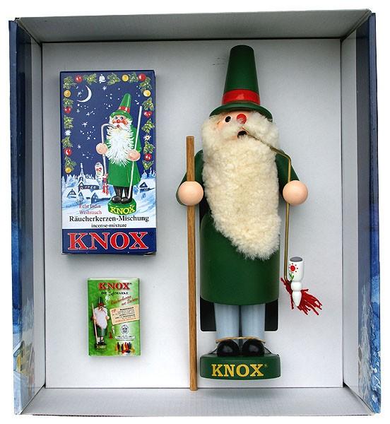 KNOX-Räuchermann im Geschenkkarton
