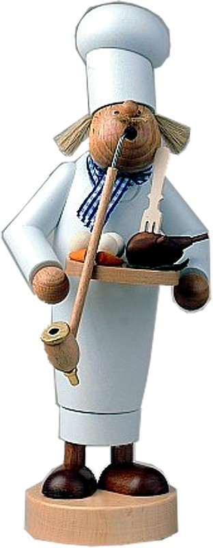 Räuchermann Koch - sehr groß -