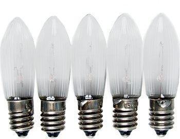 LED - Spitzkerzen im 5er Pack, 8V-34V