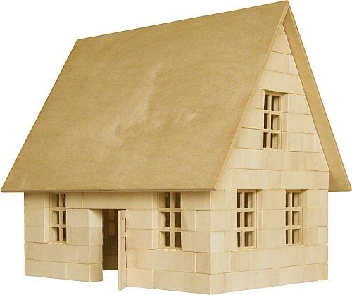 Bausatz f�r ein Wohnhaus<br> - der Holzbaustein mit dem Klick -