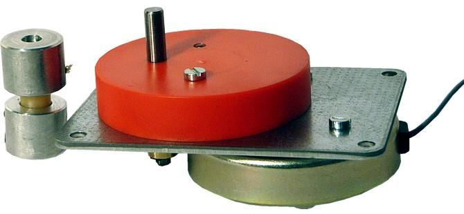 Pyramidenmotor mit Flexkupplung