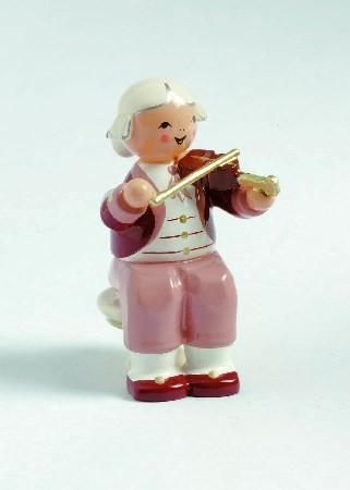 Mozart Orchester Musiker mit Violine