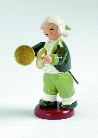 Mozart Orchester Musiker mit Becken