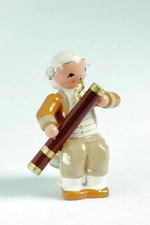 Mozart Orchester Musiker mit Fagott