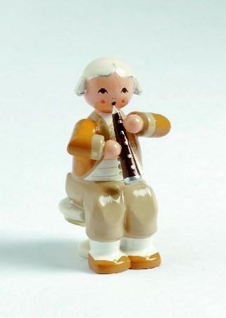 Mozart Orchester Musiker mit Oboe