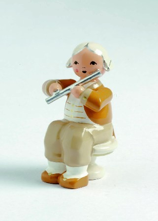 Mozart Orchester Musiker mit Querfl�te