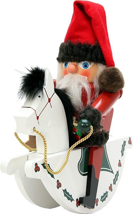 Nu�knacker Reiterlein Weihnachtsmann