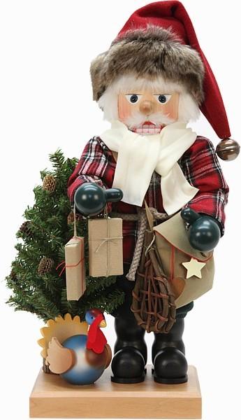Nußknacker Rustikaler Weihnachtsmann