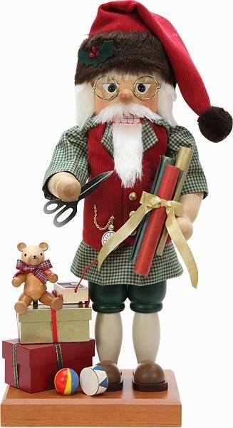 Nußknacker Santa at Work