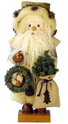 Nußknacker Weihnachtsmann rustikal