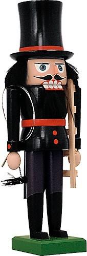 Nussknacker Schornsteinfeger rot abgesetzt