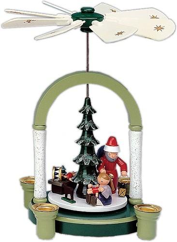 Weihnachtspyramide Weihnachtsmann