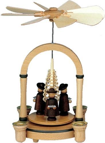 Weihnachtspyramide Kurrendengruppe
