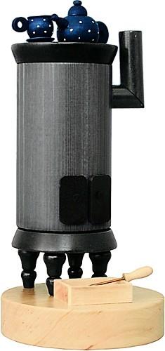 Räucherfigur Kanonenofen