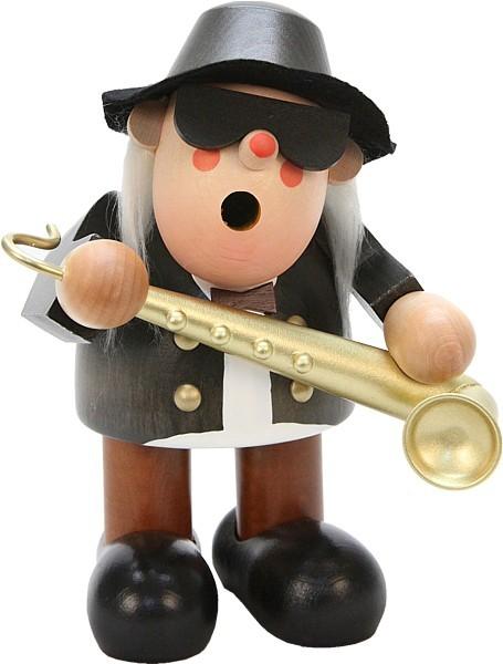 R�ucherm�nnchen Saxophonspieler