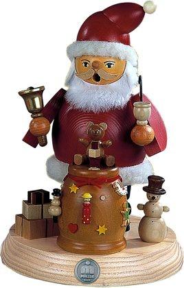 Räuchermann auf Sockel Weihnachtsmann