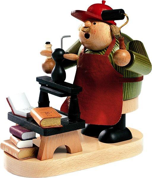 R�ucherm�nnchen Buchdrucker