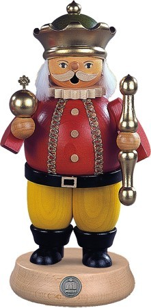 Räuchermann König 21cm, groß
