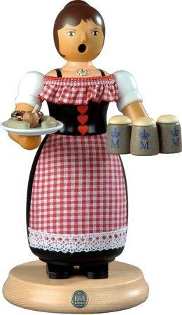 R�ucherfrau, Oktoberfest - Kellnerin, gro�