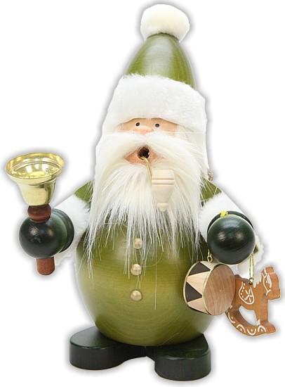 R�uchermann Weihnachtsmann Gr�n