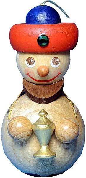 Baumbehang K�nig mit rotem Turban