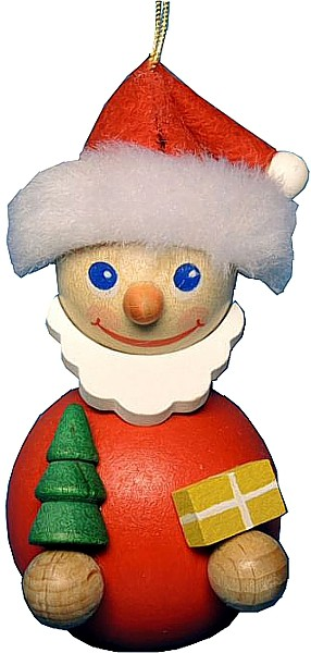Baumbehang Santa mit B�umchen
