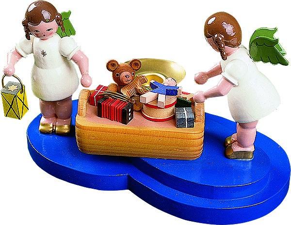Engel mit Spielzeugkorb