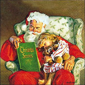 Servietten, Santa Nigth Story