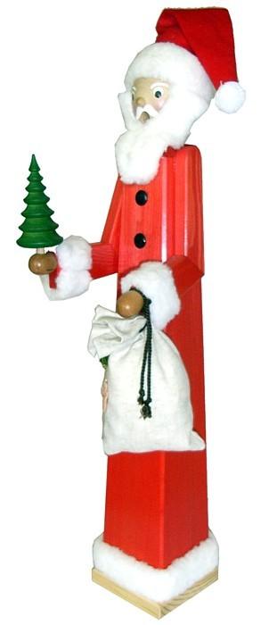Riesen - Räuchermann Weihnachtsmann extra groß