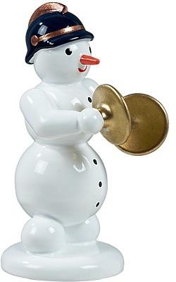 Schneemann mit Becken