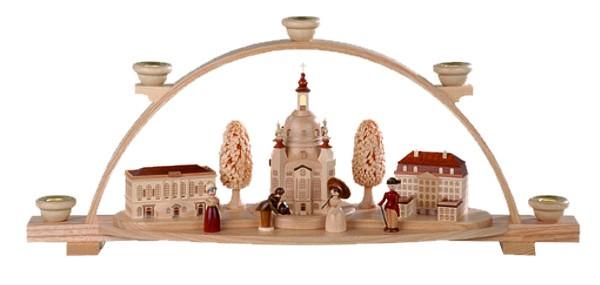 Schwibbogen Frauenkirche Dresden Natur