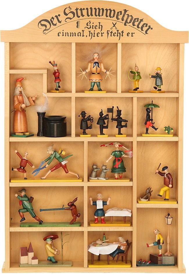 Setzkasten für Struwwelpeterfiguren