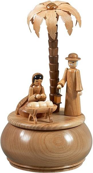 Spieldose - Heilige Familie / natur
