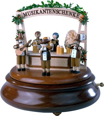 Motivplattform f�r elektr. Spieldosen Oktoberfest, 13cm