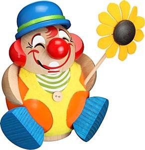 Kugelräucherfigur Clowny