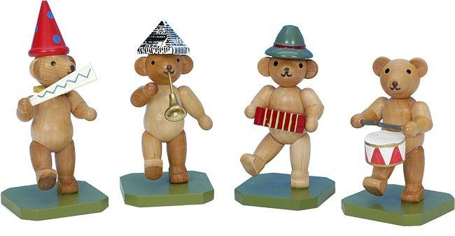 Teddyb�renkapelle 4-teilig