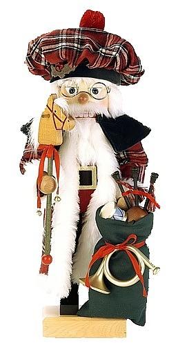 Nussknacker Schottischer Santa