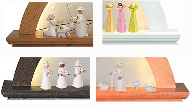 Figuren f�r moderne LED-Lichterb�gen