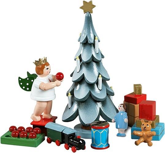 Zubehör 6-teilig, für Weihnachtsbaum