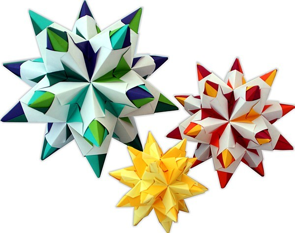 origami faltsterne verschiedene gr en aus dem erzgebirge. Black Bedroom Furniture Sets. Home Design Ideas