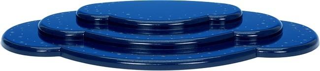 Wolke Blau 3-teilig