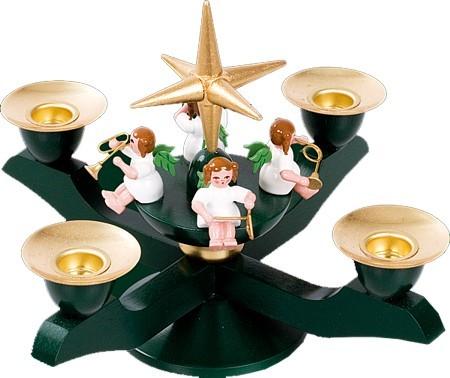 Adventsleuchter klein, grün