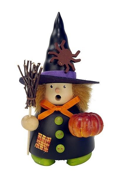 Räuchermännchen Halloween Hexe