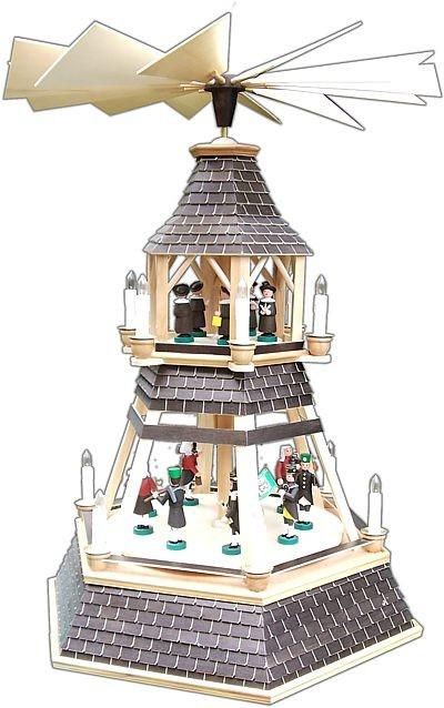 """Weihnachtspyramide """"Göpel"""""""